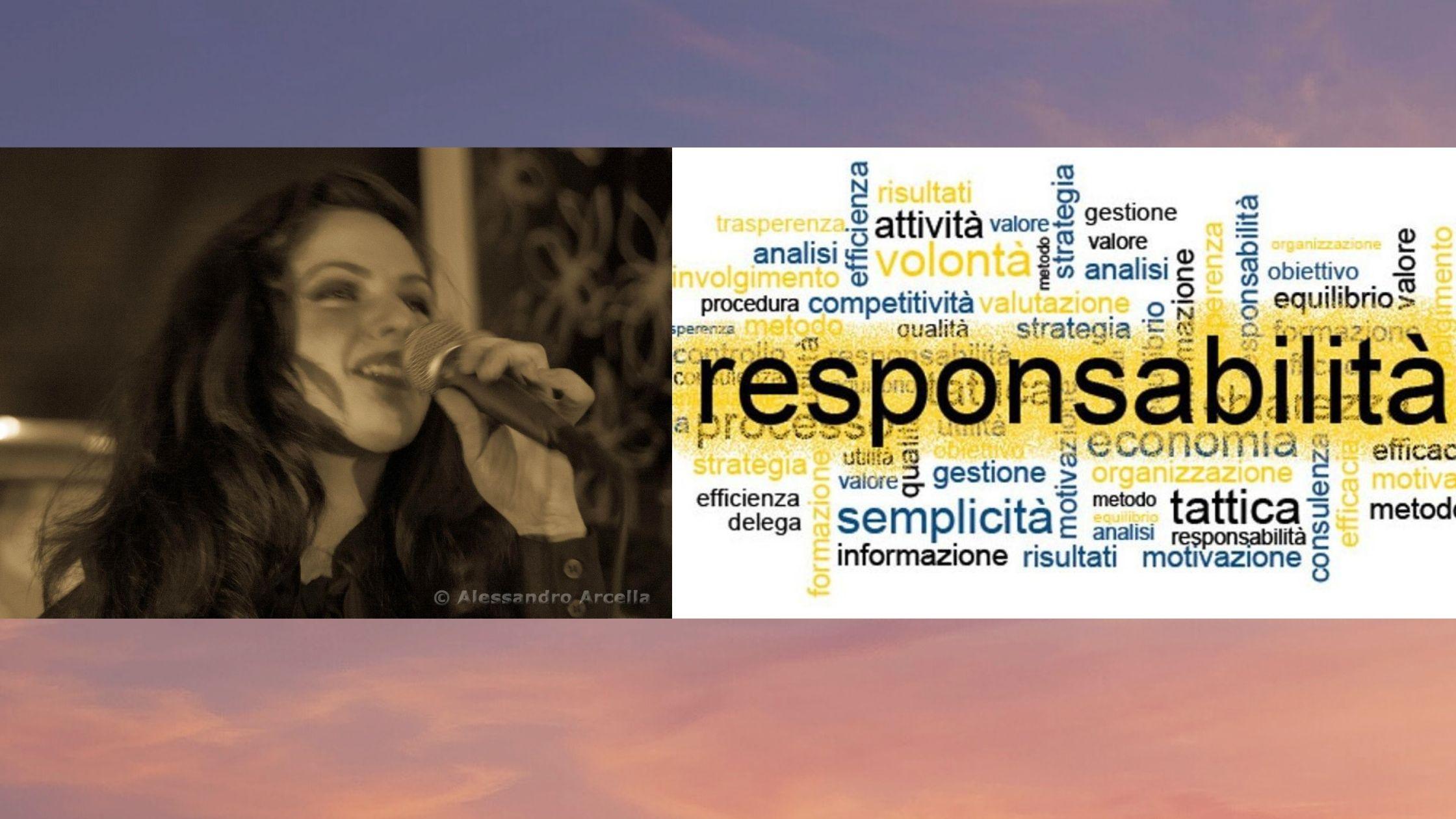 Cantare: un atto di responsabilità